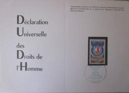 France - Souvenir 1er Jour Unesco - 1971 - Paris - YT Service 41 - Francia