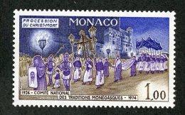 M-1108  Monaco 1973  Michel #1101** Offers Welcome! - Neufs