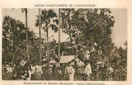 Réf : D-15-1854  :  BIRMANIE   BASSEIN  HORTICULTURE - Myanmar (Burma)