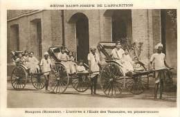 Réf : D-15-1856  :  BIRMANIE   RANGOON POUSSE POUSSE - Myanmar (Burma)