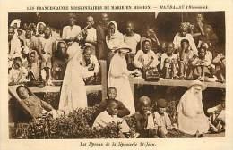 Réf : D-15-1862  :  BIRMANIE   MANDALAY LEPROSERIE - Myanmar (Burma)