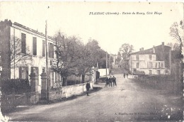 -PLASSAC  Entrée Bourg Côté BLAYE  Animée PELURAGE Cotés - Autres Communes