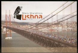 Portugal ** & Inteiro Postal, 25 Aniversário Da Meia Maratona De Lisboa 2015 (51) - Ponti