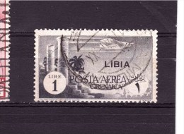 LIBYA 1941 Air Stamp  Cat. Sassone N° 52  Very Fine Used With Clear Cancellation - Libya