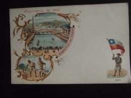 Exposition Universelle De Paris 1900 Persoective Des Quais Chili - Exhibitions