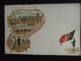 Exposition Universelle De Paris 1900 Palais Du Ministere De Le Guerre Belgique - Exhibitions