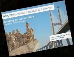 Portugal ** & Inteiro Postal, Congresso Mundial Da Água, Lisboa 2014 (55) - Ponti