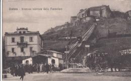 POSTCARD ORVIETO STAZIONE INFERIORE DELLA FUNICOLARE - Italy