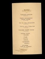 MENU Publicité Champagne HEIDSIECK & Cie MONOPOLE Reims - Menus