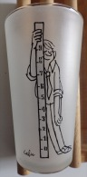 CABU Verre Dessin Caricature Année 60/70 Dessinateur De Charlie Hebdo TBE Nombreuses Photos - Gläser