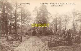 Guerre 14-18, La Chalade, La Chapelle De La Forestière Du Four Aux Moines, Carte Pas Courante - Guerre 1914-18