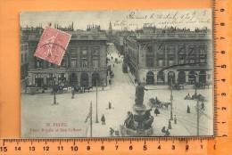 REIMS: Place Royale Et La Rue Colbert - Reims