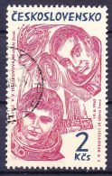 Tchécoslovaquie 1964 Mi 1470 (Yv 1338) Avec Varieté - Pos. 15/2, Obliteré, - Variétés Et Curiosités