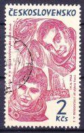 Tchécoslovaquie 1964 Mi 1470 (Yv 1338) Avec Varieté - Pos. 15/2, Obliteré, - Errors, Freaks & Oddities (EFO)