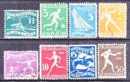 NETHERLANDS  B 25-32   (o)  OLYMPICS  SPORTS - 1891-1948 (Wilhelmine)