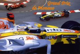 """AUTOMOBILE  L 23    """" GRAND PRIX DE MONACO  2008   / GP 36       CPM / CPSM  10 X 15 - Grand Prix / F1"""