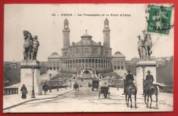 CPA Paris - Le Trocadéro Et Le Pont D'Iéna - Francia