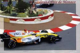 """AUTOMOBILE  L 23    """" GRAND PRIX DE MONACO  2008   / GP 128       CPM / CPSM  10 X 15 - Grand Prix / F1"""