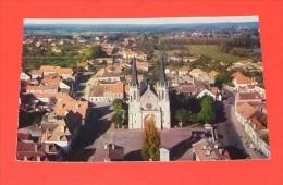 Lamarche Sur Saone -  Le Quartier De L'église Vu D'avion   ------------ 288 - Altri Comuni
