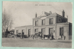 LOUDEAC - La Gare - Loudéac