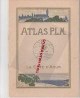 ATLAS PLM- SNCF- CHEMINS DE FER- LA COTE D´ AZUR- DE MARSEILLE A VINTIMILLE-NICE-GRASSE-GOLFE JUAN-TOULON-CANNES-HYERES- - Railway & Tramway