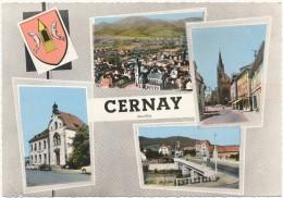 CERNAY -  Souvenir - CPSM Format  10 X 15 Cm - Cernay