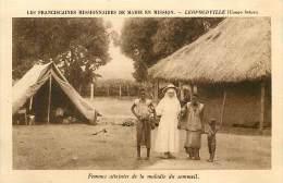 Réf : D-15-1950  :  CONGO BELGE MALADIE TROPICALE MALADIE DU SOMMEIL  LEOPOLDVILLE - Kinshasa - Léopoldville