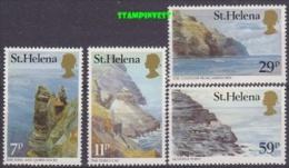 St. Helena 1983 Rocks 4v ** Mnh (22315) - Sint-Helena