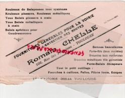 31 - TOULOUSE - BUVARD ROMAIN CHELLE- 106 RUE DES FONTAINES- FOURNITURES VOIRIE ROUTES- - Transport