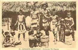 Réf : D-15-1959  : AFRIQUE ORIENTALE  DANSEURS WA ZIGOUA - Somalie