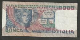 REPUBBLICA ITALIANA - BANCA D' ITALIA - 50000 Lire - VOLTO DI DONNA (Decr. 20/06/1977 - Firme: Baffi / Stevani) - [ 2] 1946-… : Repubblica