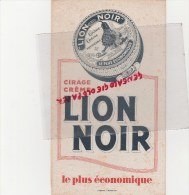 BUVARD CIRAGE LION NOIR - - C