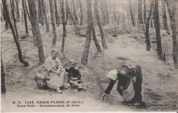 PARIS PLAGE (P DE C) 1348 SOUS BOIS RAMASSEUSES DE BOIS 1920 - Le Touquet