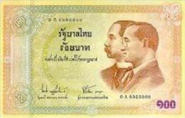 Thailand 100 Baht 2002 Pick 110 UNC Commemorative - Thailand