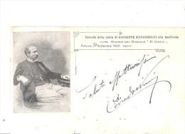 POTENZA, GIUSEPPE ZANARDELLI-OMAGGIO DEL GIORNALE IL LUCANO .VIAGGIATA--.FP.1902-E707 - Potenza
