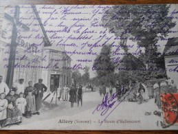 ALLERY LA ROUTE D HALLENCOURT - Autres Communes