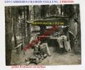 LES CARRIERES-Foret CHAMOIS Stellung-Cordonnier-Couturier-Obus-2x PHOTOS Allemandes-Guerre 14-18-1 WK-France-54-Militari - Guerra 1914-18