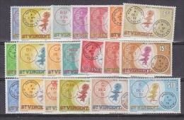 St. Vincent 1979 Post Office / Early Postmarks 20v ** Mnh (22337) - St.Vincent (1979-...)