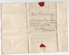 1762 - LETTRE D'un HABITANT D' UTRECHT (PAYS BAS) Expediée De PARIS - 1701-1800: Precursors XVIII