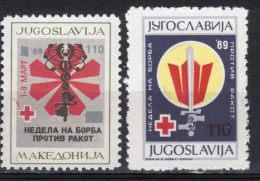 Yugoslavia,Anti Cancer 1989.,MNH - 1992-2003 République Fédérale De Yougoslavie