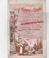 75- PARIS -JEAN DE MIRAS -UN COMBAT DE GEANTS -GEANT-PERRUQUE POEME- DIABLE-PANAFIEU HUILE QUINQUINA-IMPRIMERIE BERNARD - Poetry