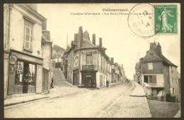 CHATEAURENAULT Rare Carrefour St André Rues P. Moreau Et République (Repusseau) Indre & Loire (37) - Andere Gemeenten