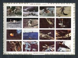 UMM AL QIWAIN 1972 Mi # 1194 B - 1201 B SPACE  MNH - Umm Al-Qaiwain