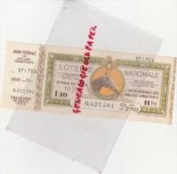 LOTERIE NATIONALE - BILLET GRAND PRIX DE PARIS 1939- UNION FEDERALE ANCIENS COMBATTANTS - COURSES SWEEPSTAKE - Auto
