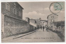 MESSIMY - Entrée Du Village Et La Mairie    (78607) - Autres Communes