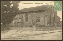 SAVONNIERES En PERTHOIS L'Eglise (Charoy Dumas Vorzct) Meuse (55) - Autres Communes