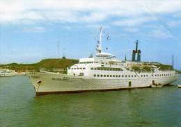 04061 - Seebäderschiff HELGOLAND Beim Ausbooten Auf Reede Vor Helgoland - Fähren