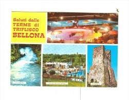 Saluti Dalle TERME DI TRIFLISCO BELLONA,vedute-1971 - Caserta