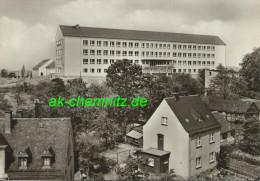 Sachsen Foto AK 08523 Plauen / Vogtland 1971  Clara-Zetkin-Oberschule Im Ortsteil Reusa - Schools