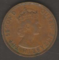 BRITISH CARIBBEAN 2 CENTS 1965 - Colonie